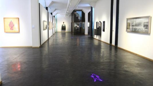 创意艺术地坪在奥秘在于难以描述的艺术中