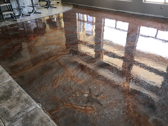 河源艺术地面制造